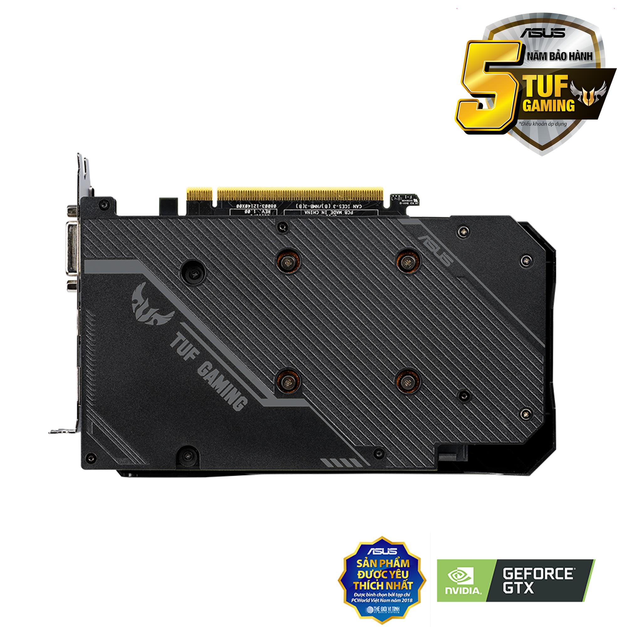 ASUS TUF GTX 1660 OC edition 6G Gaming GDDR5