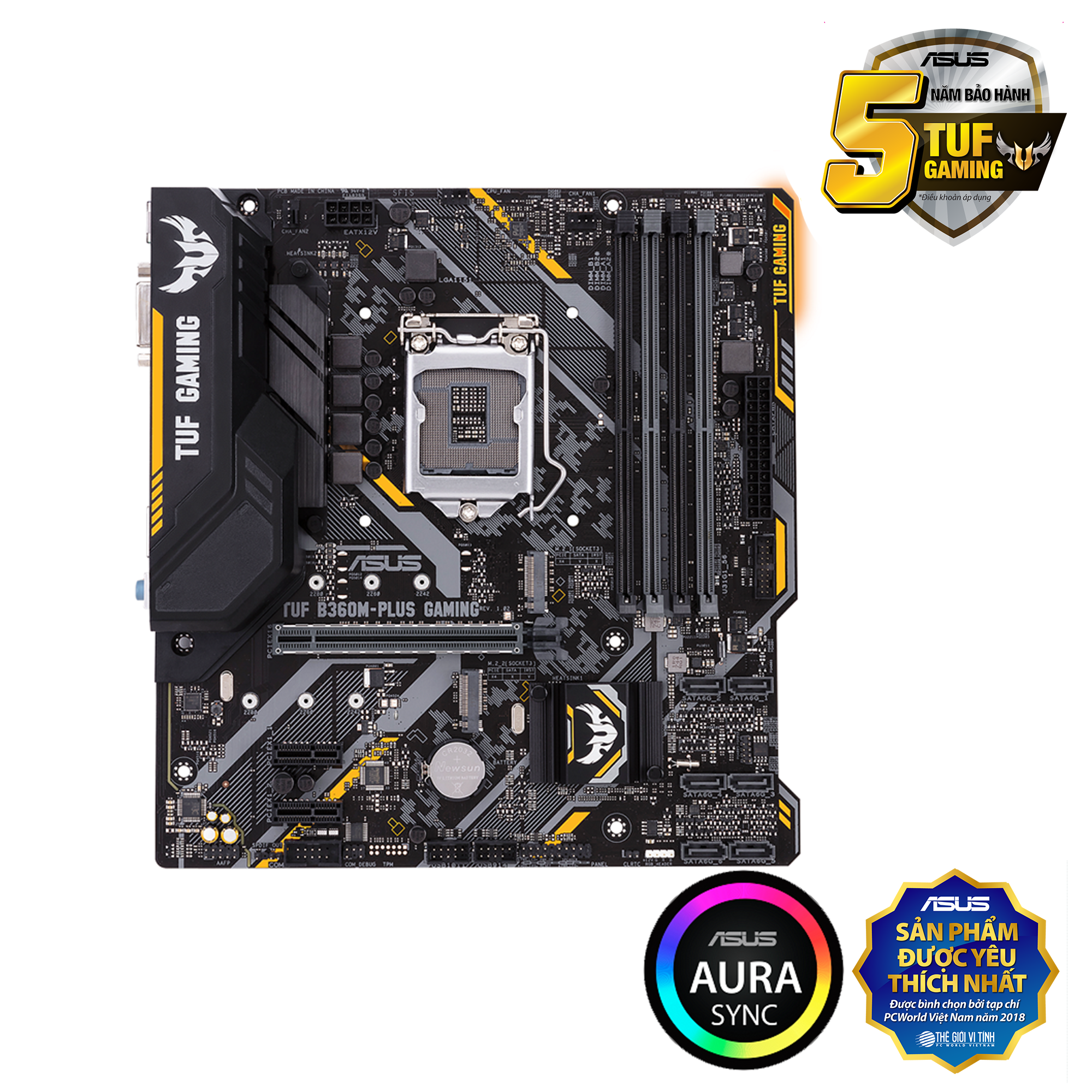 Asus TUF B360M-Plus Gaming LGA 1151v2