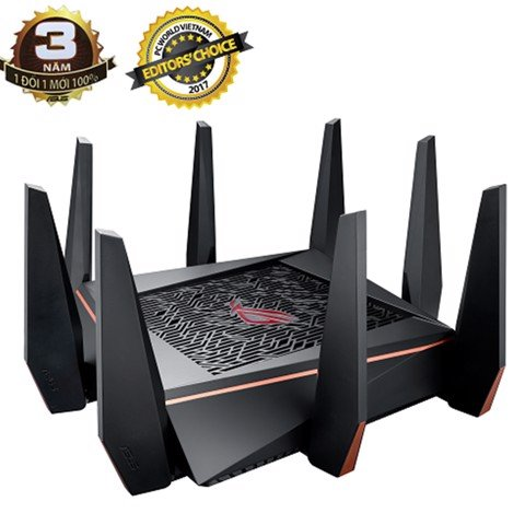ASUS GT-AC5300 Gaming Wifi Router ROG Rapture WTFast 3 băng tần