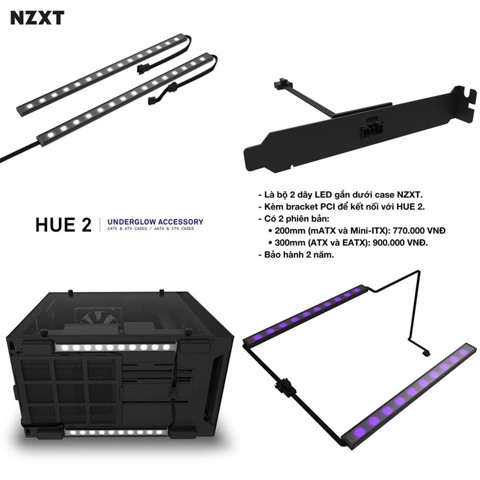 NZXT Hue 2 Undergrlow Accessory   (200mm)