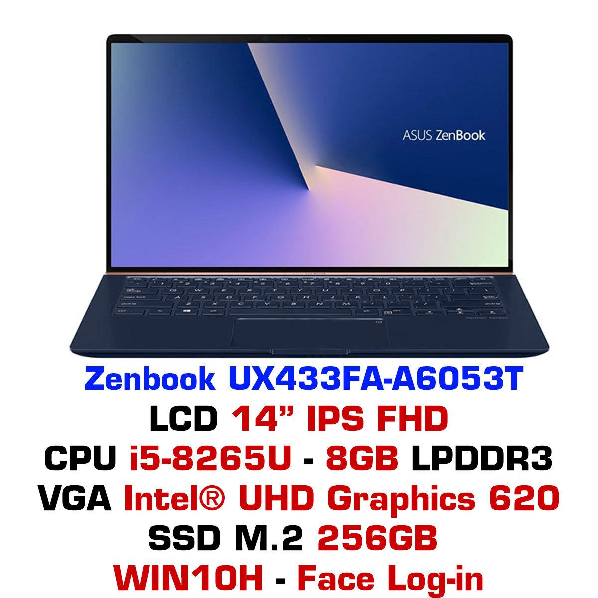 Laptop Asus ZenBook UX433FA-A6053T