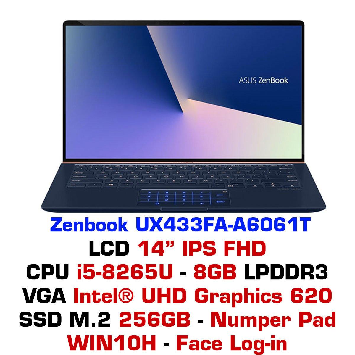 Laptop Asus ZenBook UX433FA-A6061T