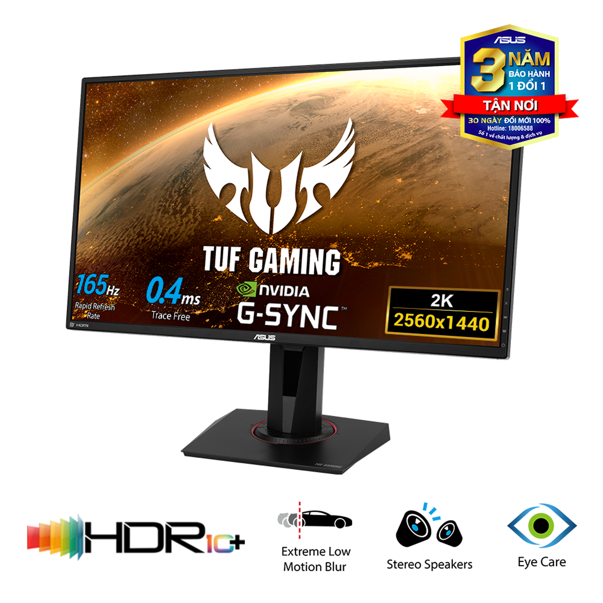 "(TN 27"" 165Hz) ASUS TUF GAMING VG27BQ 2K 165Hz"