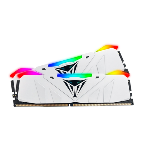 (16GB DDR4 2x8G 3000) Patriot Viper RGB White CL15