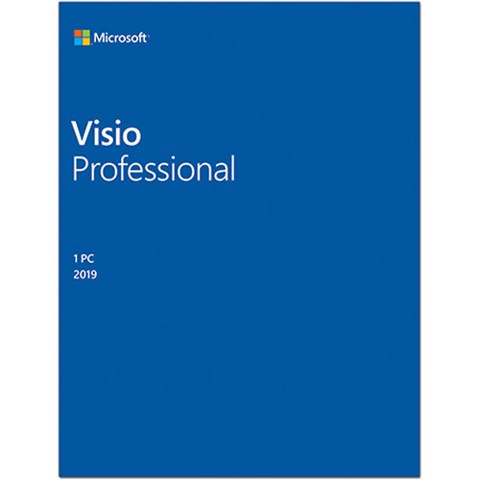 Visio Pro 2019 Win All Lng PK Lic Online DwnLd C2R NR (D87-07425)