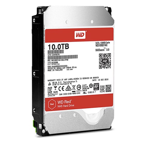WD HDD 10TB Red 5400rpm