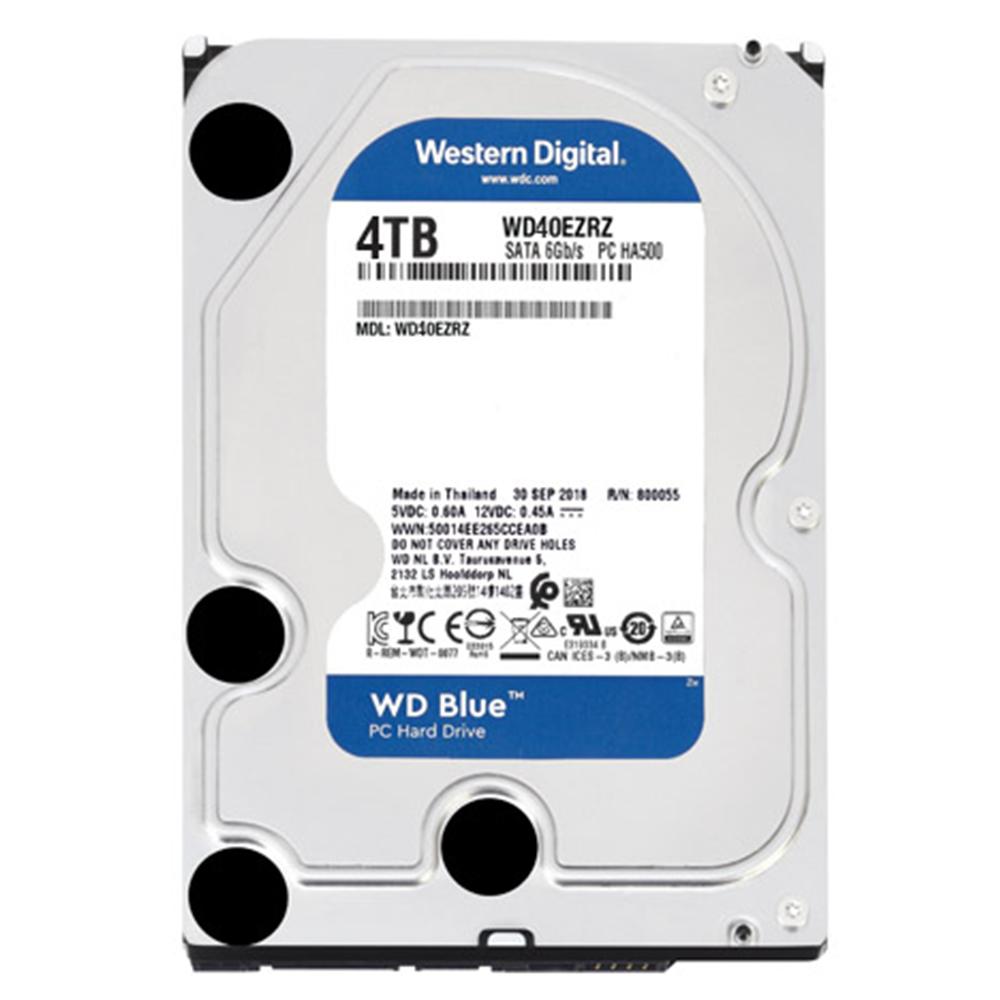 WD HDD 4TB Blue 5400rpm