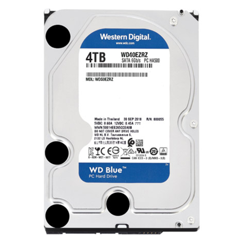WD HDD 4TB Blue 5400rpm