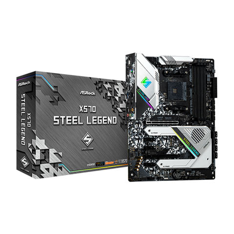 X570 Steel Legend (AMD Socket AM4)