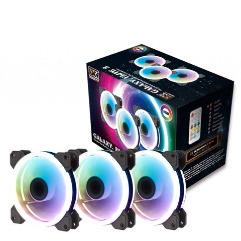 XIGMATEK GALAXY ELITE - CY120 RGB 2 SIDE RING