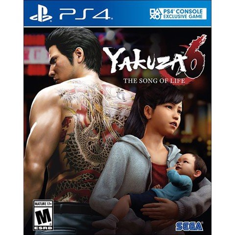 Yakuza 6: The Song of Life - US