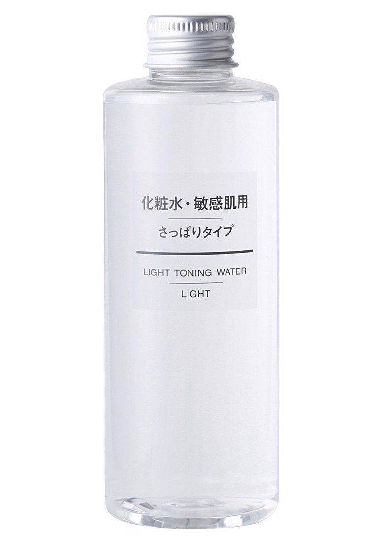 Nước hoa hồng Muji light toning water light 200ml