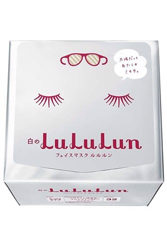 Mặt nạ Lululun Face Mask White dưỡng trắng da - 32 miếng