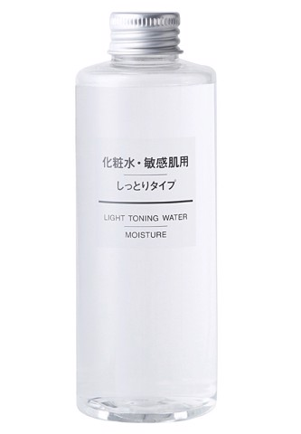 Nước hoa hồng Muji light toning water moitsure 200ML