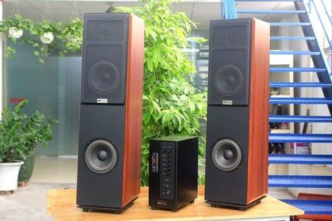 Dàn karaoke V300 ( 01 âm ly 380w + cặp karaoke V300) (Sản phẩm đang chạy giá tháng 9)