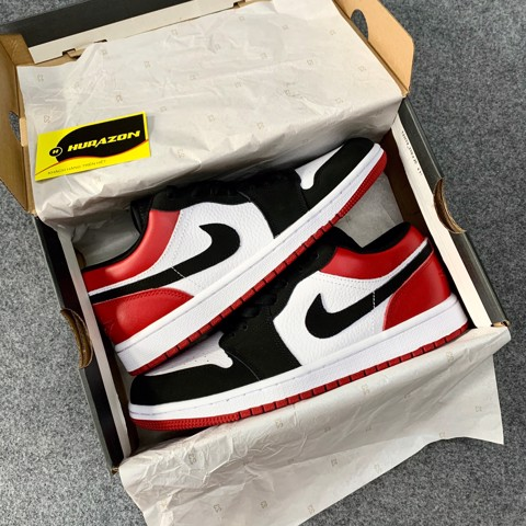 Jordan 1 Low Black Toe JDM02