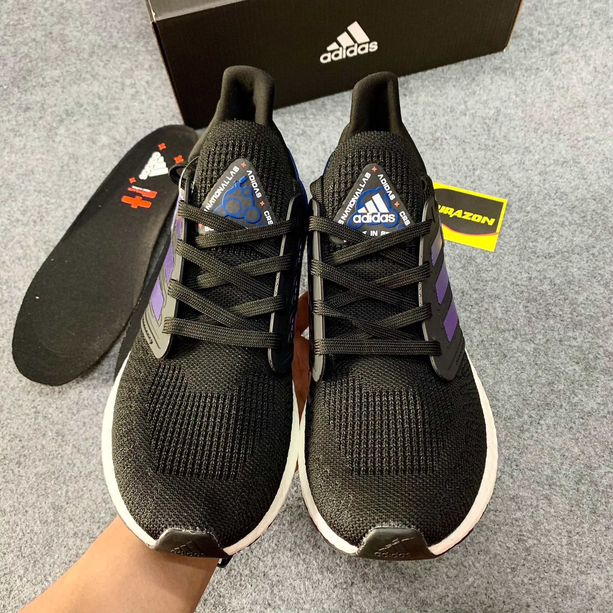 Ultra boost 20 national lab đen AUB88