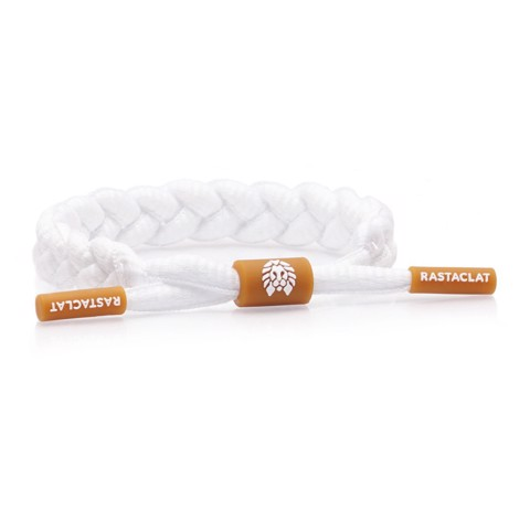 Rastaclat Gum White, Women's Braided