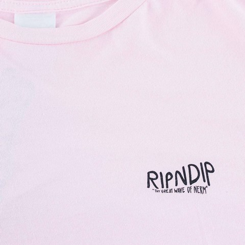 RIPNDIP, Great Wave T-Shirt White