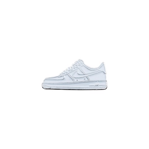Rocky Inc Pin, AF1 All White