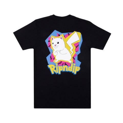RIPNDIP, CATCH EM ALL T-SHIRT BLACK