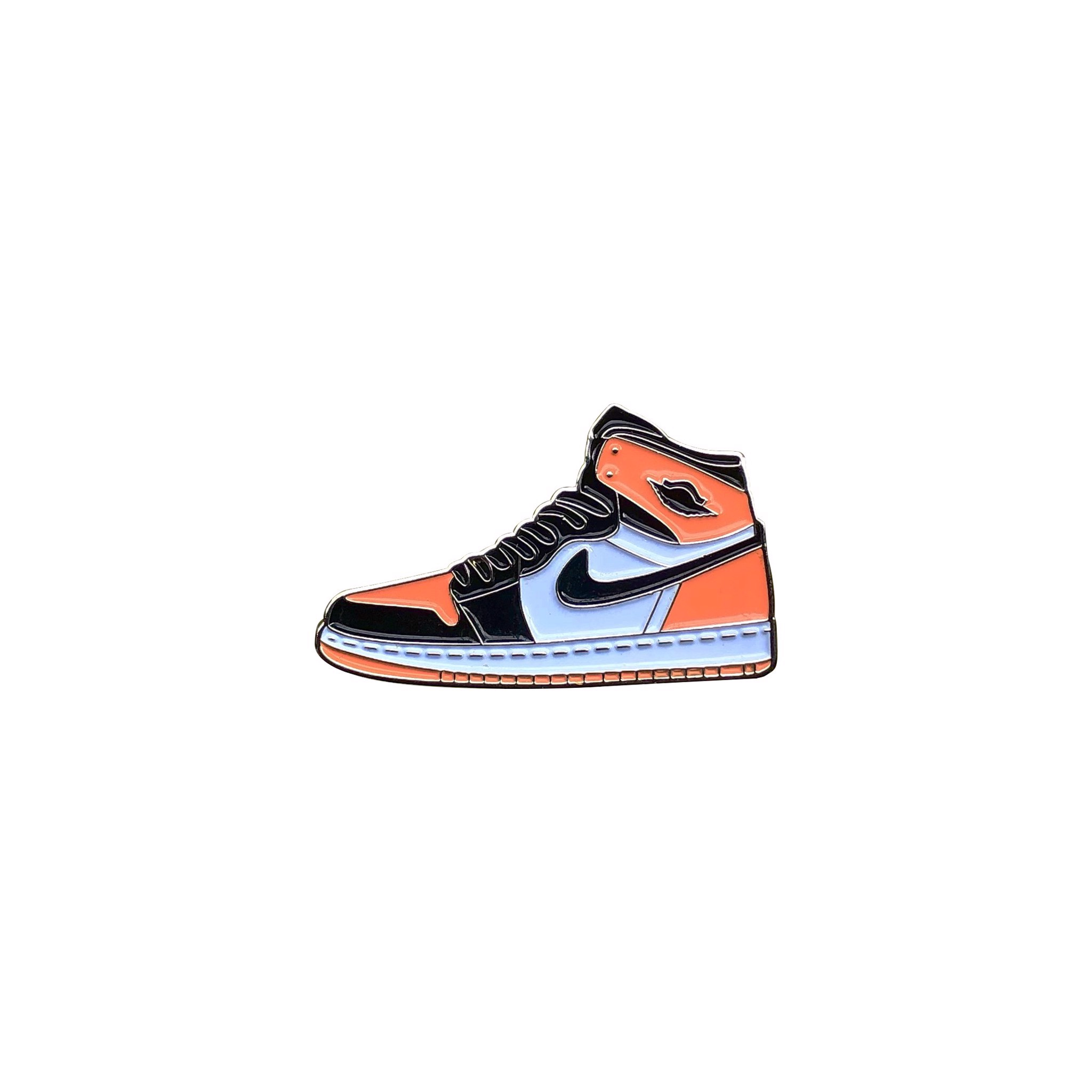 Rocky Inc Pin, AJ1 High Satin Shattered Backboard