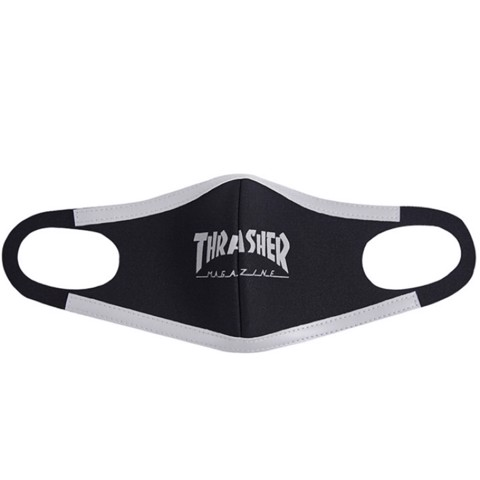 THRASHER REFLECTIVE HOMETOWN FACE MASK