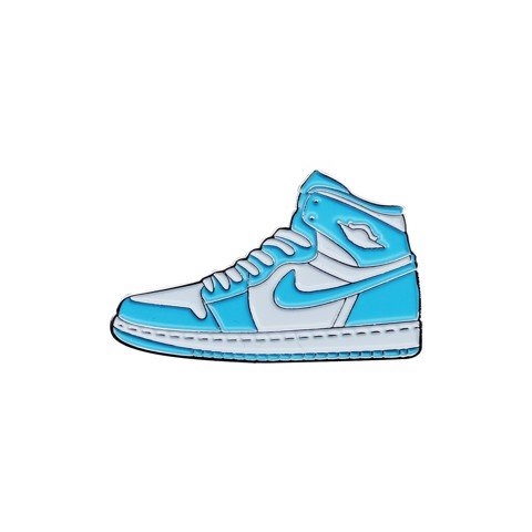 Rocky Inc Pin, JD1 Retro High OG Power Blue