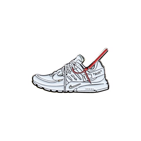 Rocky Inc Pin, Air Presto Off-White White