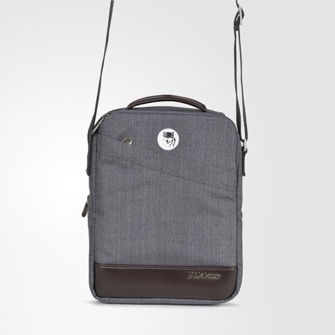The Norris Sling Dark Mouse Grey