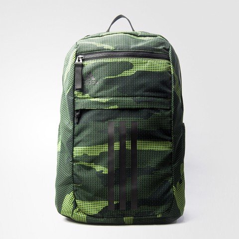 League 3 Stripe Backpack Green Camo