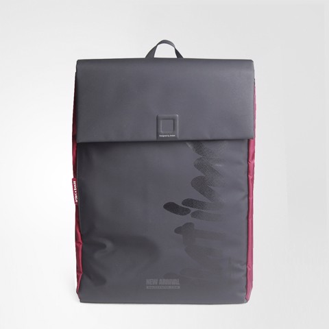 Backpack Black/Burgundy