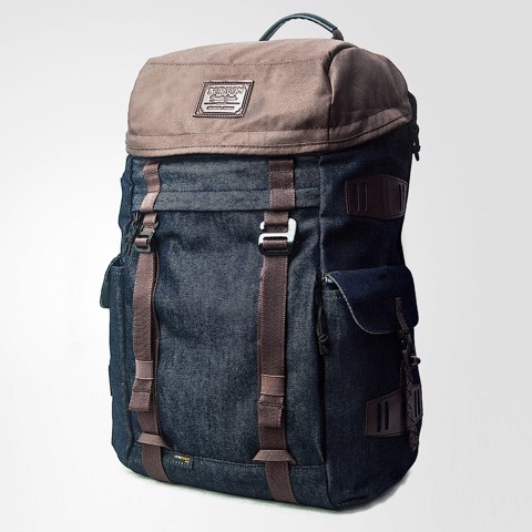 Annex Backpack Denim/Brown