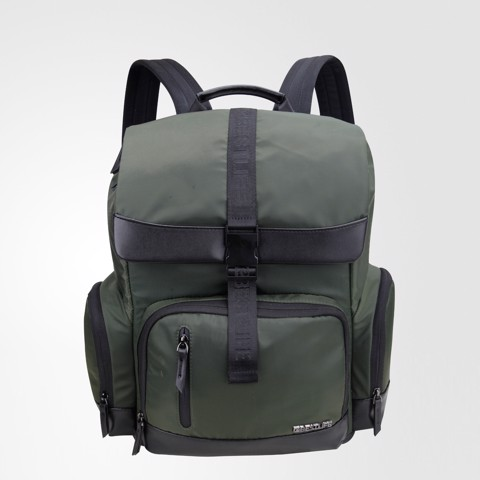 Elegant Moss Green Backpack -14.1''- BB-3461GE