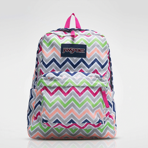 Superbreak Cyber Pink Summer Chevron
