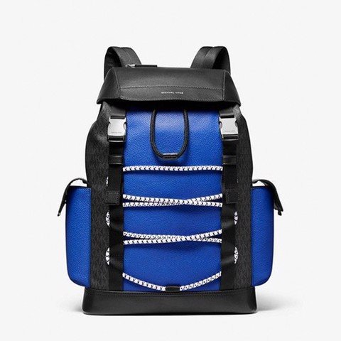 Greyson Logo Backpack Blue