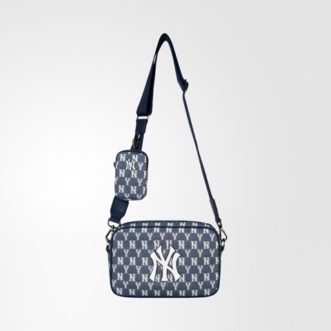 Jacquard Monogram Crossbody Bag