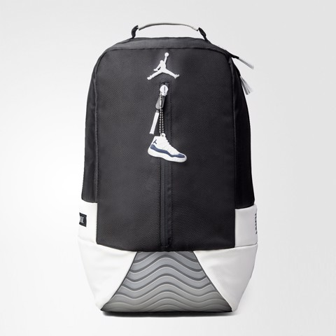 Jordan 11 Backpack White/Black