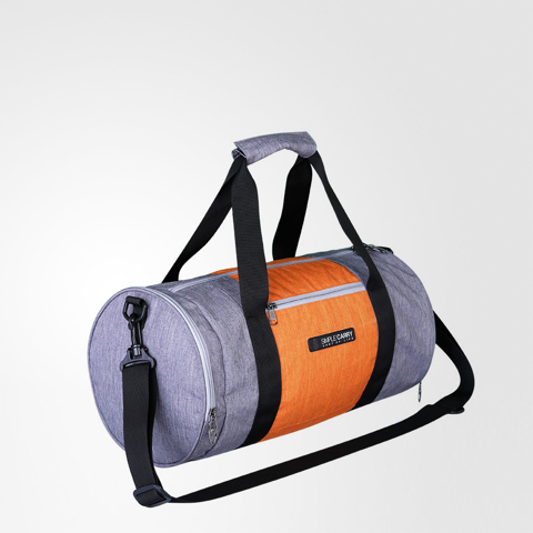 Gymbag Grey/Orange