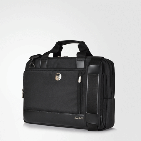 The Ralph Briefcase Black