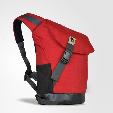 Arnold Deluxe Backpack Red