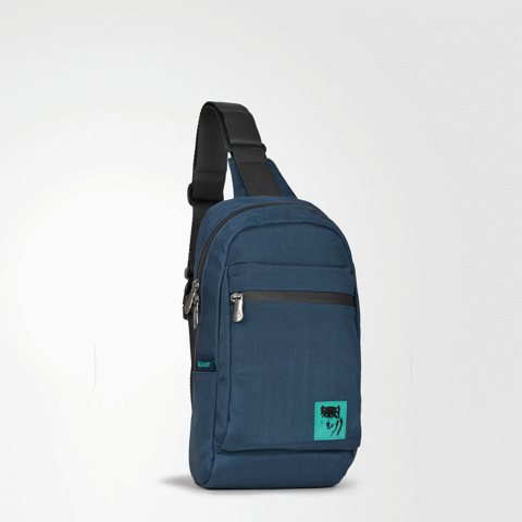 The Clarence Sling Backpack Navy
