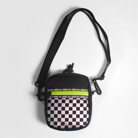 Old Skool II Checkerboard Reflective Mini Bag