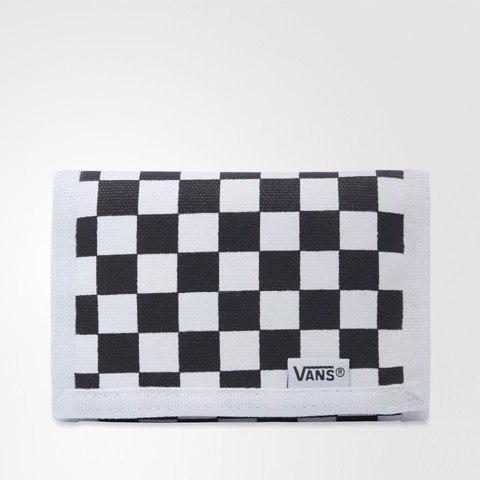 Slipped Checkerboard Wallet