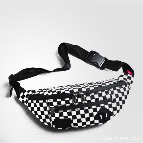 Ward B&W Checkered Cross Body Pack 2019