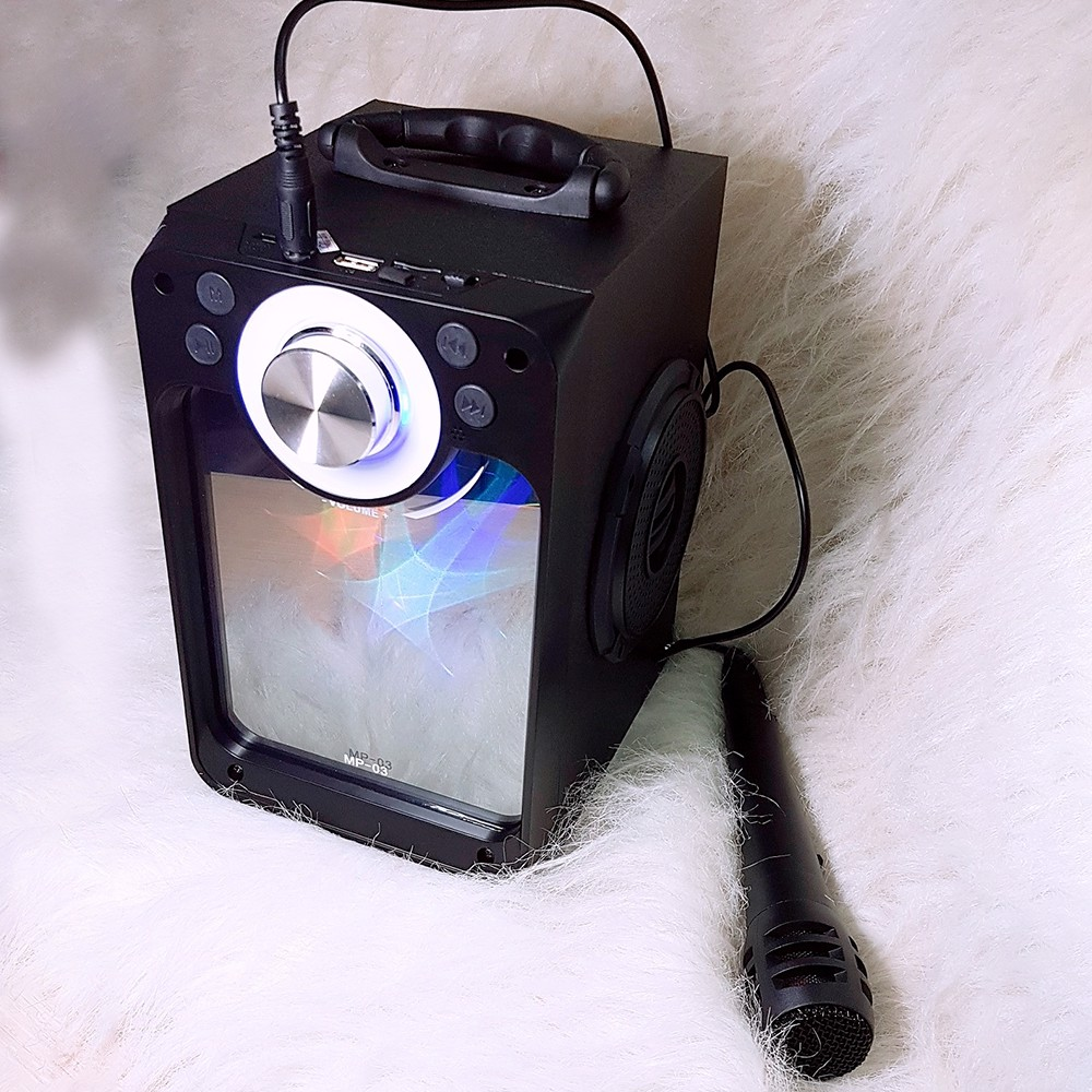 Loa Karaoke Bluetooth Kèm Micro Dây MP-03