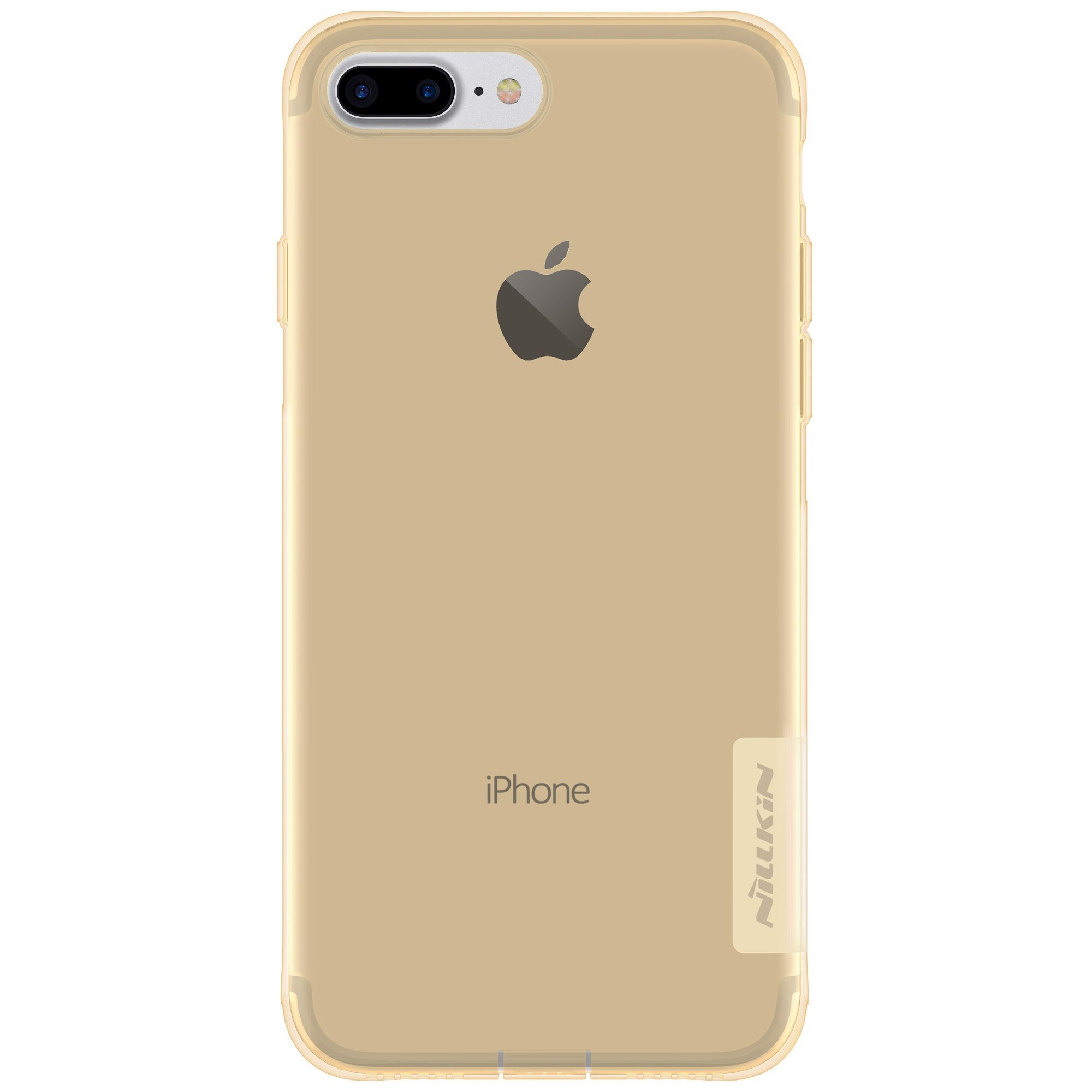 Ốp Lưng IPhone 7 Plus Nillkin TPU Case Dẻo - Màu Gold