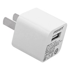 Adapter Sạc Pisen Charger 1A/Apple - Trắng