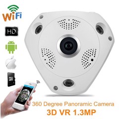 Camera VR Cam 3D Panoramic Full HD 360 độ