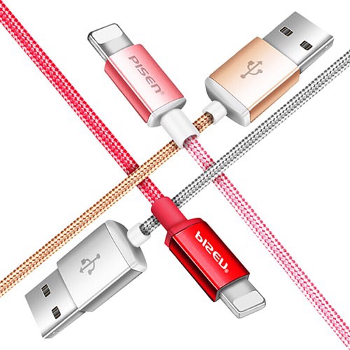 Cáp Sạc Double Sided USB (Red)